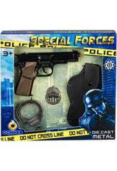 Set Speciale Poliziotto Giocattolo Gonher 425/7
