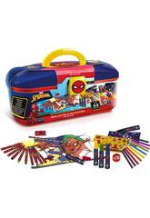 Koffer Spiderman Farben 55 Teile Canal Toys SPC224