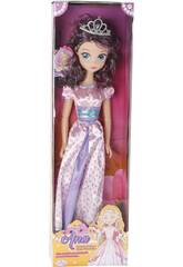 Poupée Princesse Ana Robe Rose 75 cm