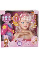 Buste avec Mains Assortiment Princesse Elsie Avec Accessoires 22 x 19 x 11 cm