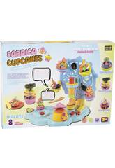 Handwerk Fabrik Cupcakes mit Zubehör