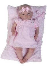 Poupée Reborn Bébé Robe Rose Berbesa 5300