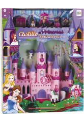Château des Princesses Rêveuses avec Lumières et Accessoires 37x34x11cm