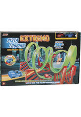 Pista Looping Extremo Con Dos Coches