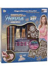 Set Tatoos de Henna