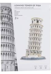 Puzzle 3D Torre de Pisa 31 Piezas 23x13.8x13.8cm