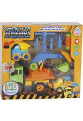 Construye Tus Vehículos de Construcción 28x17 cm Color Verde