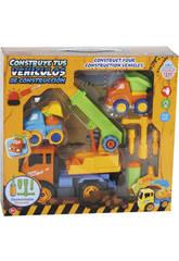 Construye Tus Vehículos de Construcción 27x20 cm Color Naranja