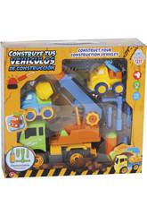 Construye Tus Vehículos de Construcción 27x20 cm Color Verde