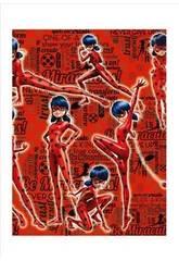 Papier Cadeau Ladybug 200 x 70 cm Montichelvo 55948