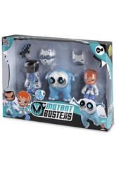 Mutant Busters Pack 3 Figurines Neige à Choisir Famosa 700012142