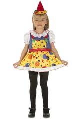 Déguisement Bébé L Petit Clown Fille