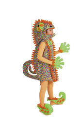 Costume Bimbo Camaleonte L Nines D'Onil D846-3