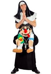 Déguisement Adulte Prêtre et Religieuse Nines D'Onil D8951