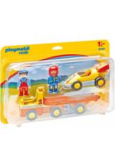 Playmobil Camion Rimorchio con Auto da Corsa 6761