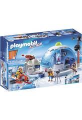 Playmobil Quartier Général des Explorateurs Polaires 9055