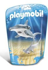 Playmobil Requin-marteau et son Petit 9065