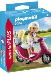 Playmobil Mujer con Scooter 9084