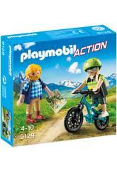 Playmobil Randonneur et Cycliste 9129