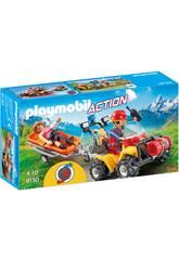Playmobil Secouriste des Montagnes avec Quad 9130