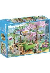 Playmobil Bosque Mágico De Las Hadas 9132