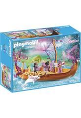 Playmobil Barco Romántico De Las Hadas 9133