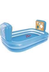 Swimmingpool mit Toren und Kugel 237x152x94 Zentimeter. Bestway 54170