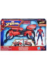 Spiderman Arachno-moto 3 en 1 Hasbro E0593