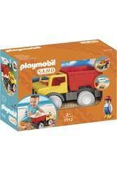Playmobil Camion De Sable 9142