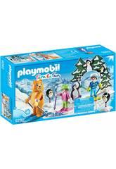 Playmobil FamilyFun Scuola di sci 9282