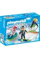 Playmobil Giornata sulla neve 9286