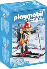 Playmobil Campionessa di Biathlon 9287