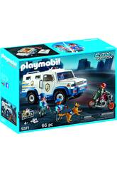 Veículo Blindado Playmobil 9371