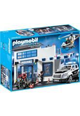 Playmobil Poste de Police et Véhicules 9372