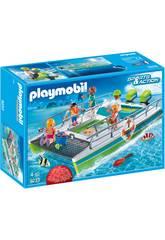 Playmobil Barco Vistas Fondo Marino Con Motor 9233