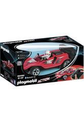 Playmobil Voiture de Course Rouge Radiocommandée 9090