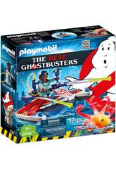 Playmobil Ghostbusters Zeddemore con acqua scooter 9387