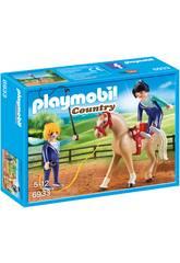 Playmobil Entrenador De Caballos 6933