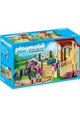 Playmobil Caballo Árabe con Establo 6934