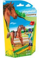 Playmobil Fisioterapista dei Cavalli 9259