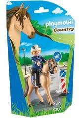 Playmobil Polizia a Cavallo 9260