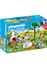 Playmobil Famille et Barbecue Estival 9272