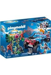 Playmobil Monster Truck Con Alex y Rock Brock 9407
