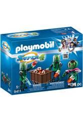Playmobil Super 4 Alieni 9411
