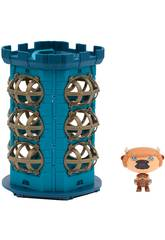 Hero Eggs Monster Tower Maxi Playset con Figura Esclusiva Matador Giochi Preziosi HEW04000