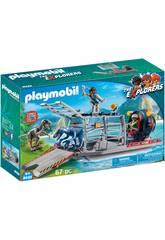 Playmobil Hidrodeslizador Con Jaula 9433