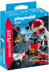 Playmobil Explosión de Rocas 9092