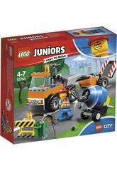 Lego Juniors Camión de Obras en Carretera 10750