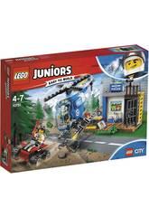 Lego Juniors Inseguimento della Polizia di montagna 10751