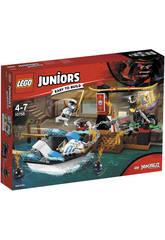Lego Juniors Verfolgung im Schellboot Ninja von Zane 10755